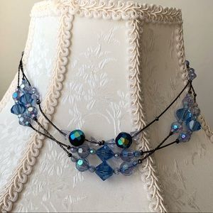 2028 Multi-strand beaded Necklace